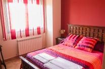 Foto habitación roja